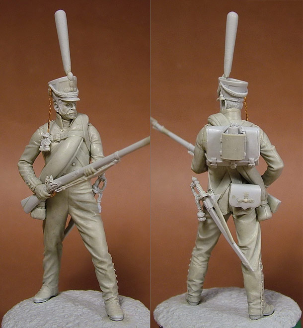 Скульптура: Русский гренадер, 1812 г.