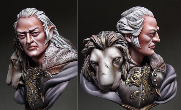 Фигурки: Белый Лев