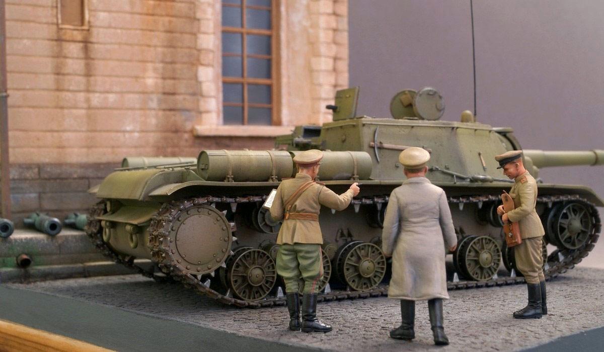 Диорамы и виньетки: Кремль, 8 сентября 1943 года, фото #9