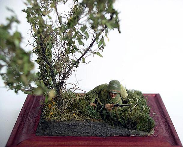 Диорамы и виньетки: В засаде. D-Day, 02.00