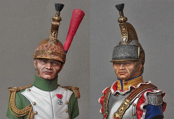 Фигурки: Кавалерия Наполеона
