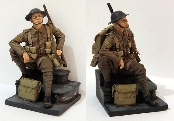 Фигурки: Британский сержант