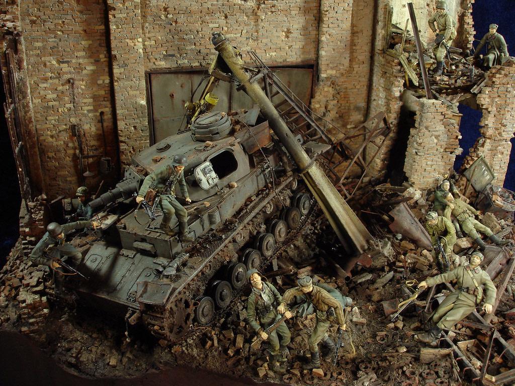 Диорамы и виньетки: Сталинград – Берлин, фото #1