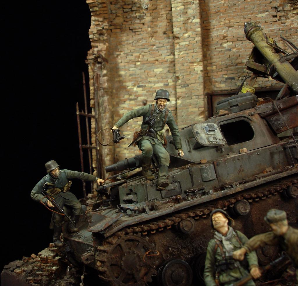 Диорамы и виньетки: Сталинград – Берлин, фото #10