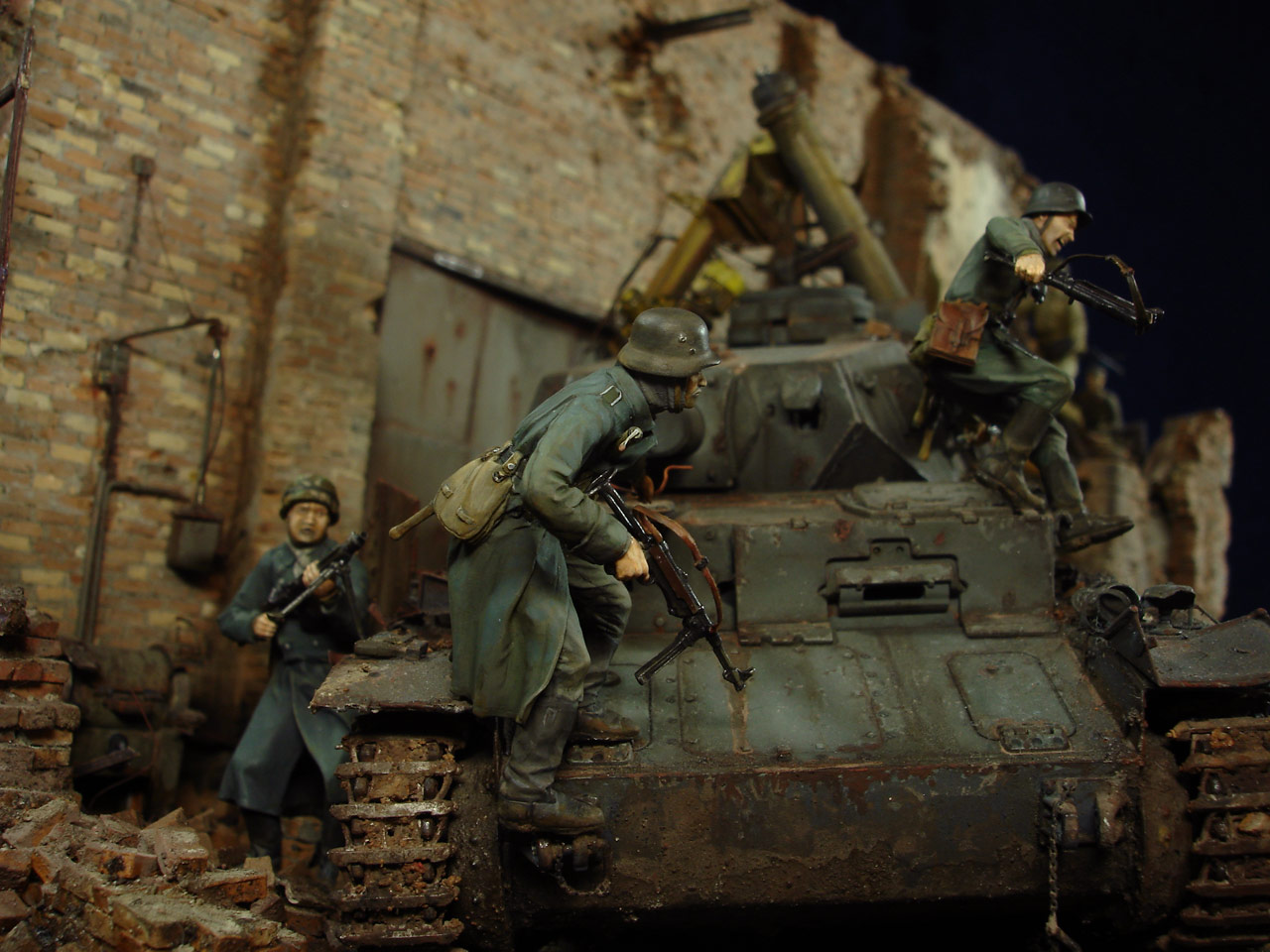 Диорамы и виньетки: Сталинград – Берлин, фото #12
