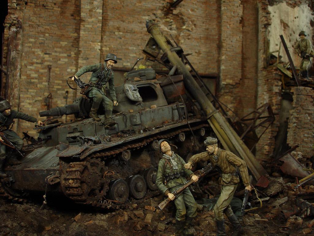 Диорамы и виньетки: Сталинград – Берлин, фото #13