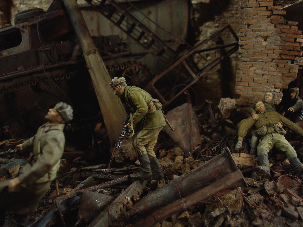 Диорамы и виньетки: Сталинград – Берлин, фото #17