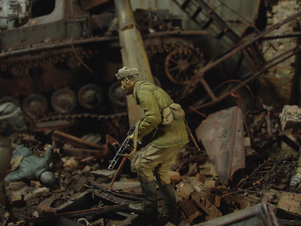 Диорамы и виньетки: Сталинград – Берлин, фото #19