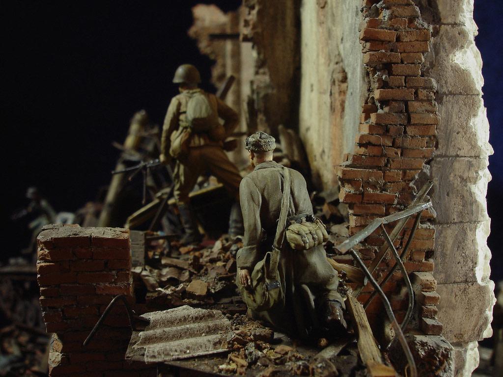 Диорамы и виньетки: Сталинград – Берлин, фото #22