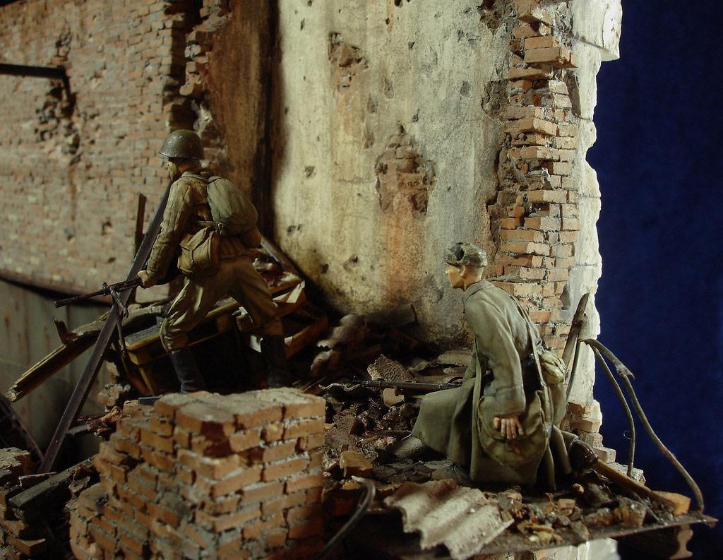 Диорамы и виньетки: Сталинград – Берлин, фото #23