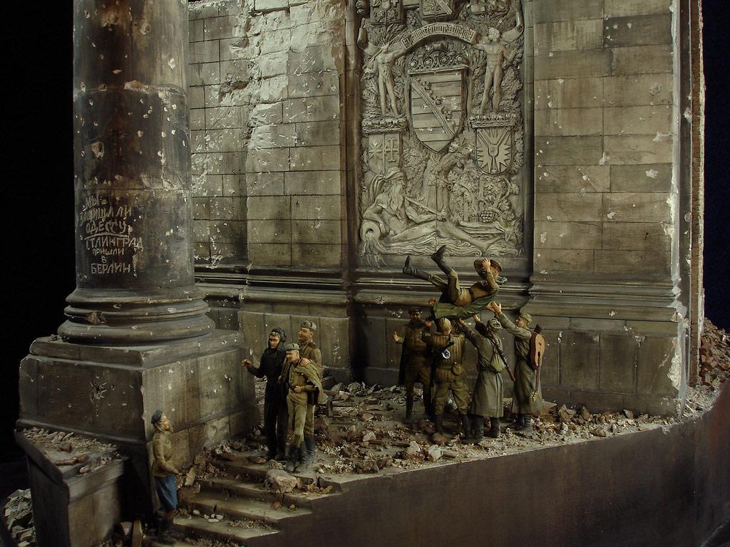 Диорамы и виньетки: Сталинград – Берлин, фото #28