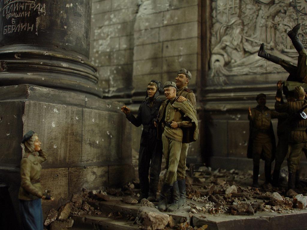 Диорамы и виньетки: Сталинград – Берлин, фото #37