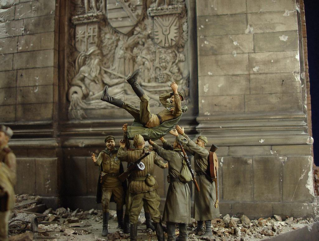 Диорамы и виньетки: Сталинград – Берлин, фото #39