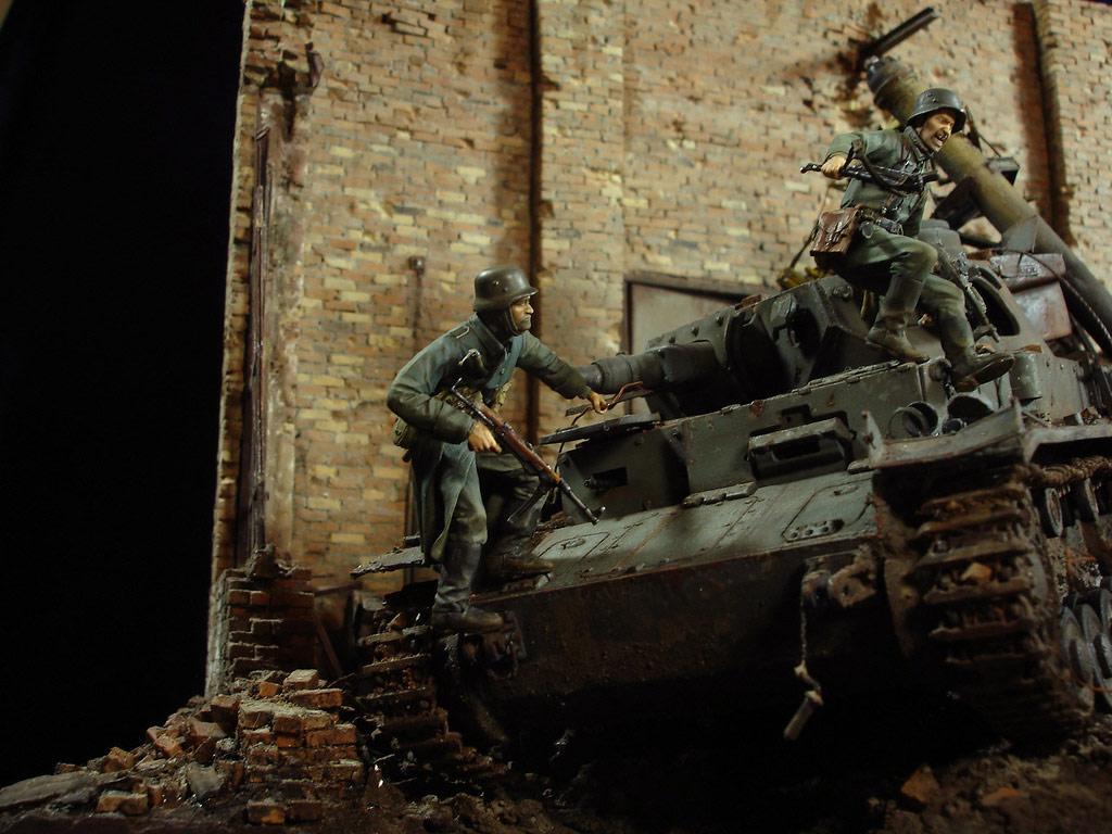 Диорамы и виньетки: Сталинград – Берлин, фото #4