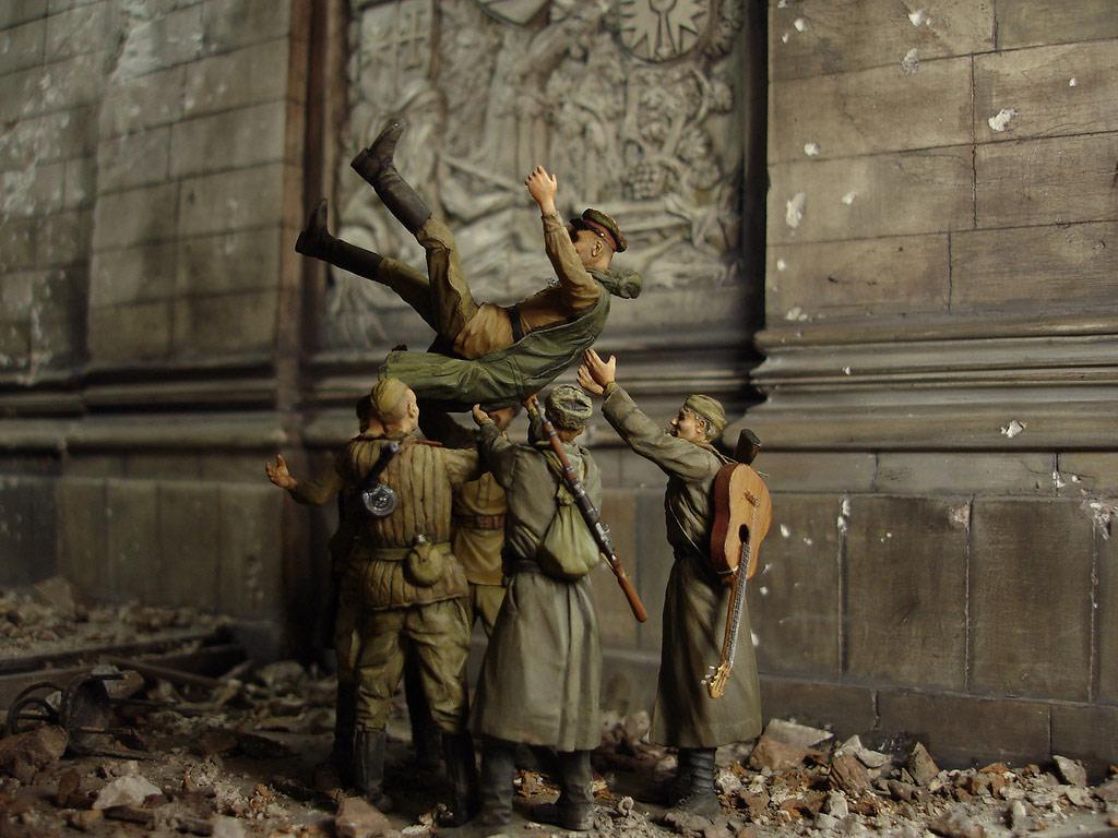 Диорамы и виньетки: Сталинград – Берлин, фото #40