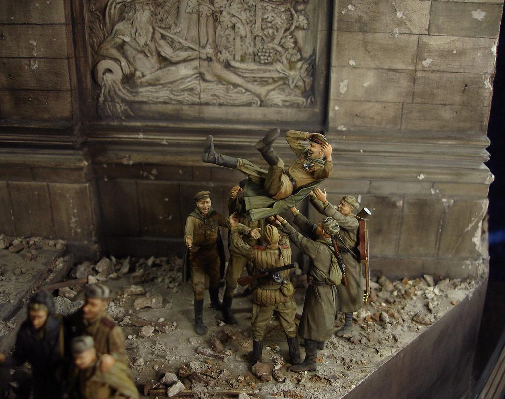Диорамы и виньетки: Сталинград – Берлин, фото #41