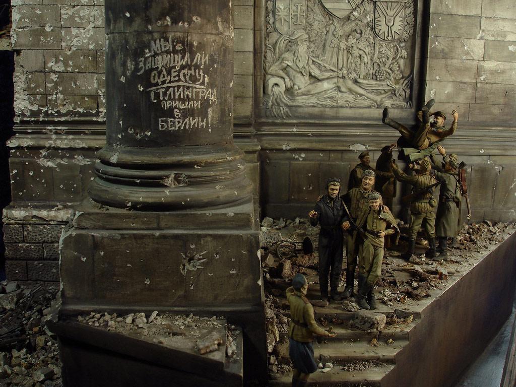 Диорамы и виньетки: Сталинград – Берлин, фото #44