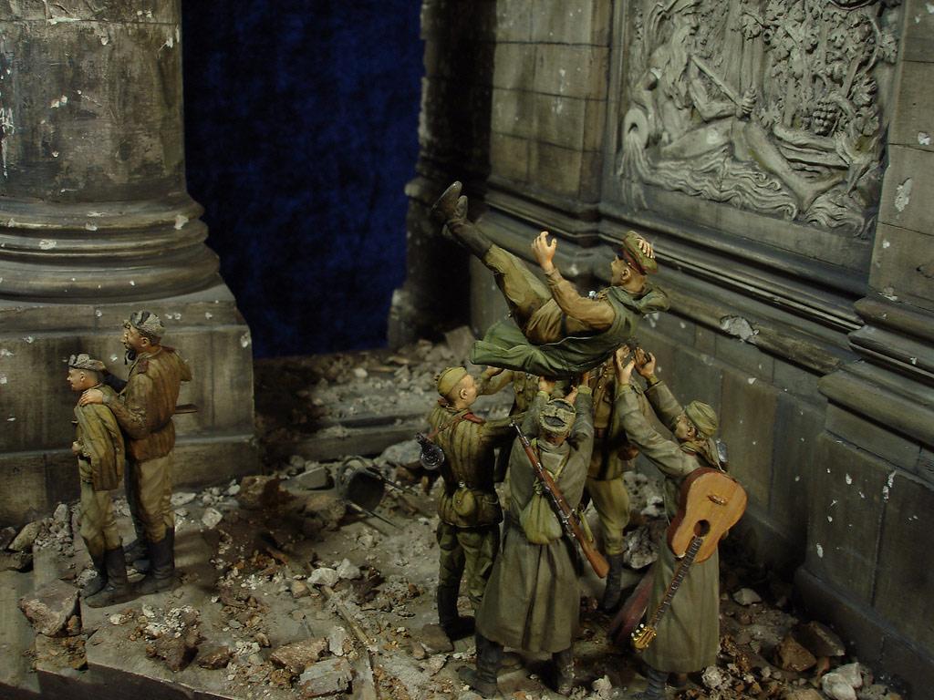 Диорамы и виньетки: Сталинград – Берлин, фото #47