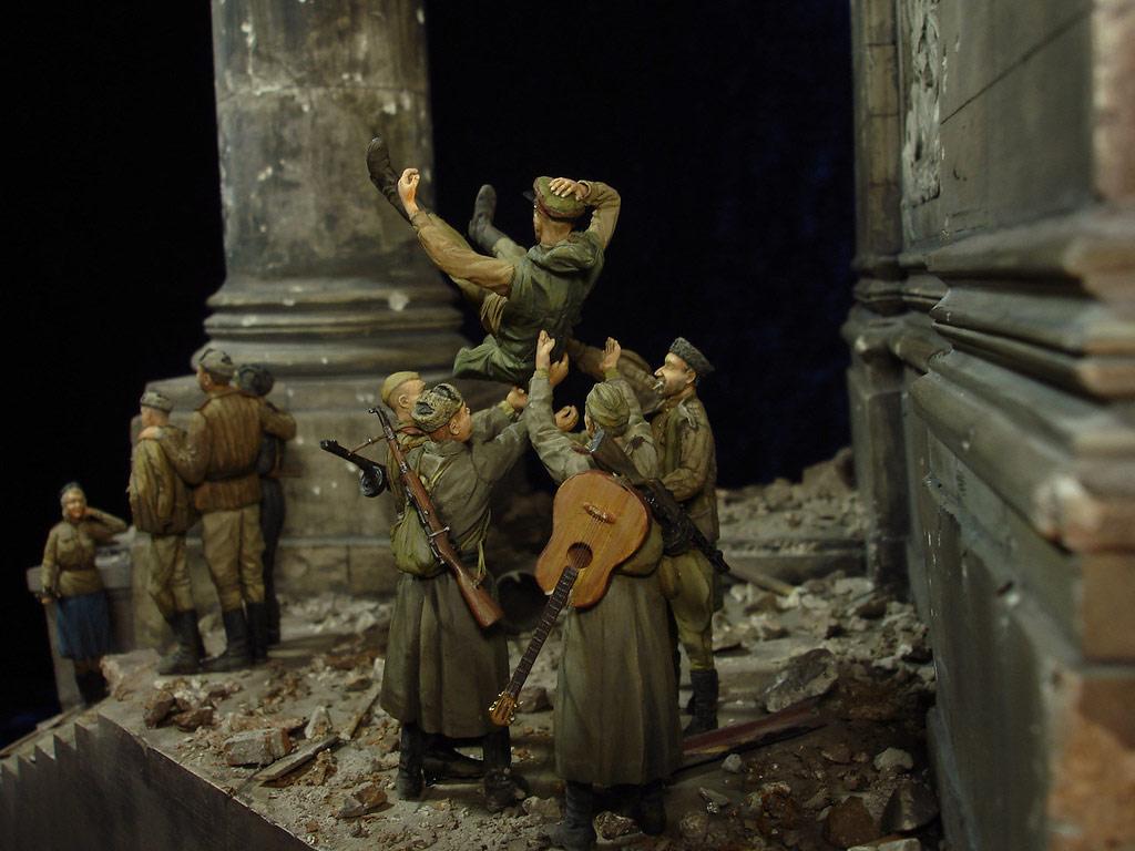 Диорамы и виньетки: Сталинград – Берлин, фото #48