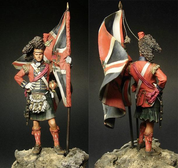 Фигурки: Шотландец 42-го полка