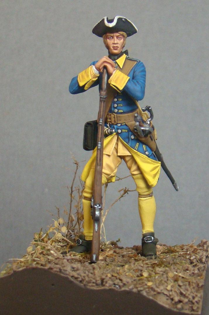 Фигурки: Шведский мушкетер, фото #1