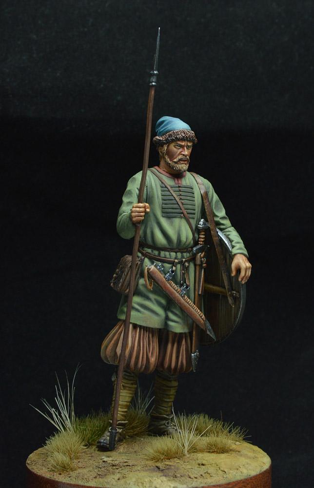 Фигурки: Древнерусский воин, X век. , фото #1