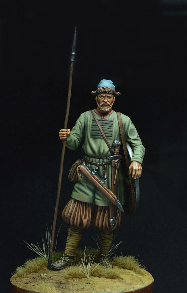 Фигурки: Древнерусский воин, X век. , фото #2