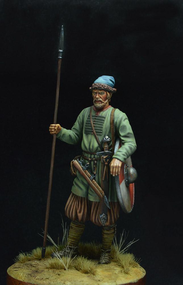 Фигурки: Древнерусский воин, X век. , фото #3