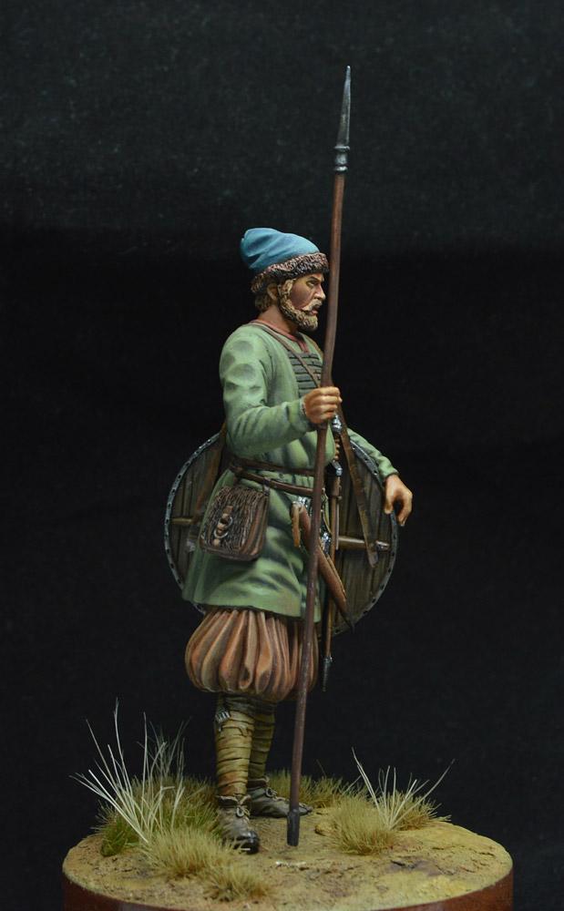 Фигурки: Древнерусский воин, X век. , фото #6