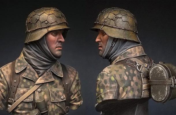 Фигурки: Панцергренадер СС, 1944