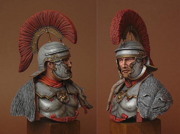 Фигурки:  Ad Gloriam Romae. Военный трибун , 1 век н.э.