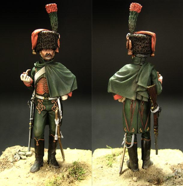 Фигурки: Рядовой конно-егерского полка Императорской гвардии Наполеона