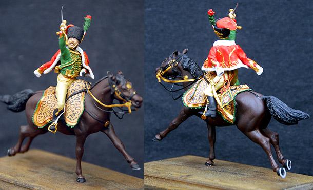 Учебка: Офицер гвардейских конных егерей армии Наполеона