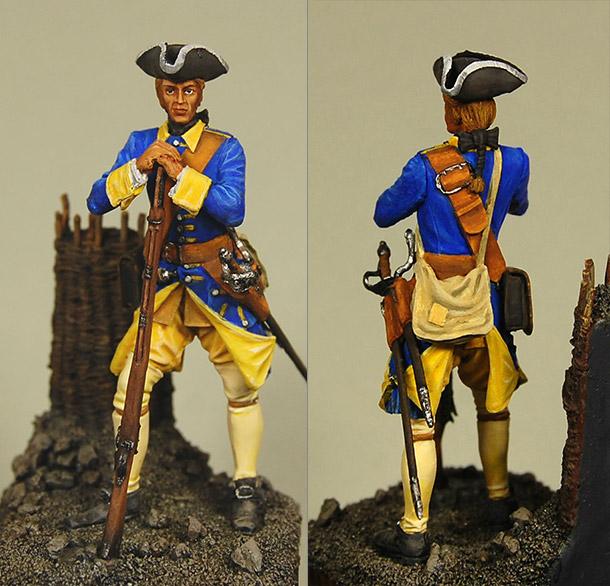 Фигурки: Шведский мушкетер, 1708-1721 гг.