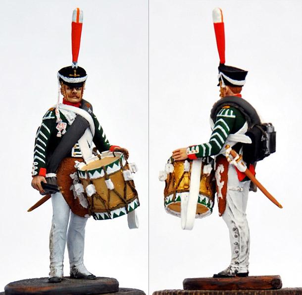 Учебка: Барабанщик гренадерской роты Селенгинского пехотного полка