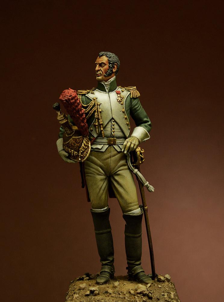 Фигурки: Офицер Гвардейского Драгунского полка, 1815 г., фото #1