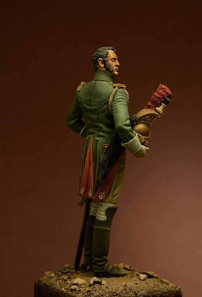 Фигурки: Офицер Гвардейского Драгунского полка, 1815 г., фото #3