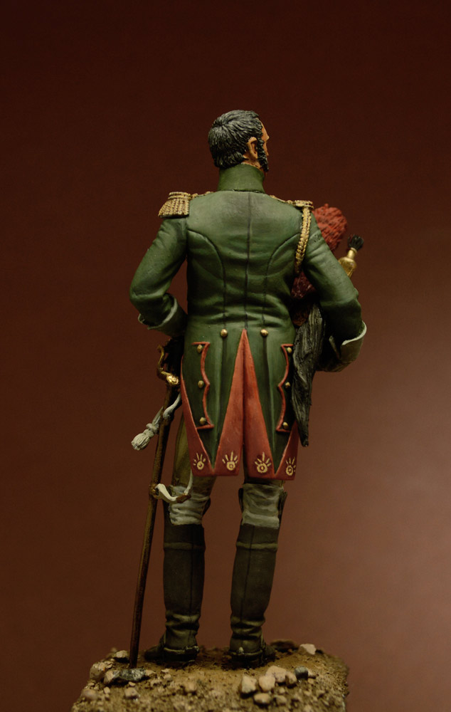 Фигурки: Офицер Гвардейского Драгунского полка, 1815 г., фото #4