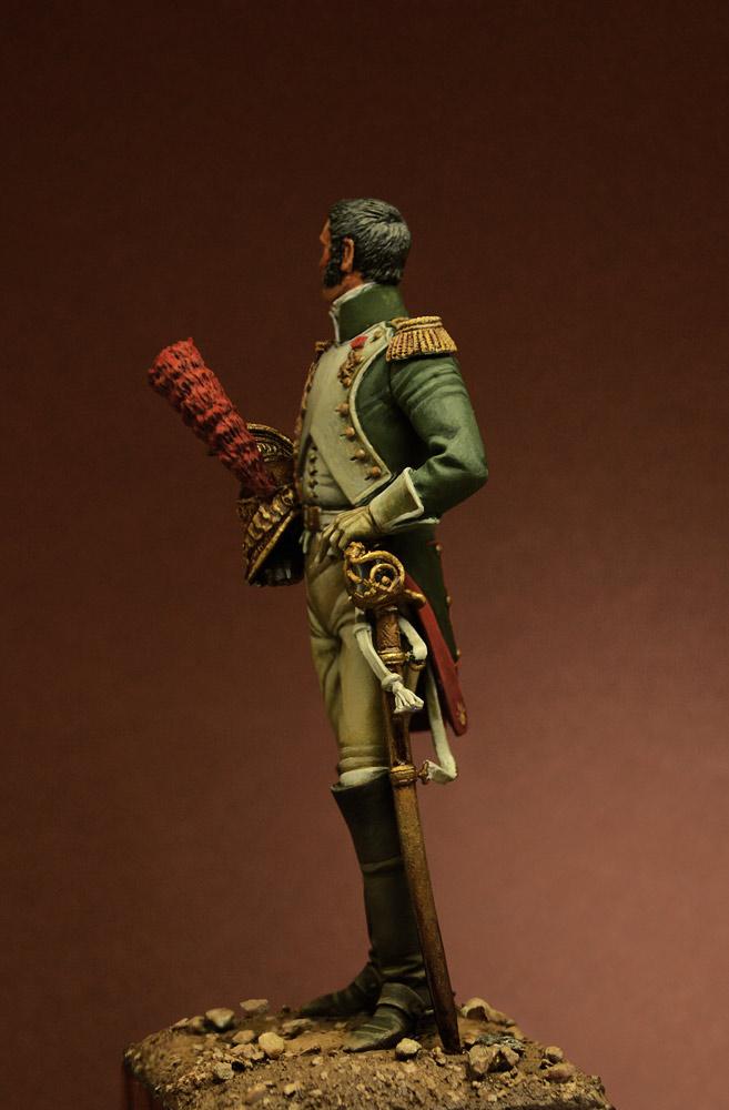 Фигурки: Офицер Гвардейского Драгунского полка, 1815 г., фото #5