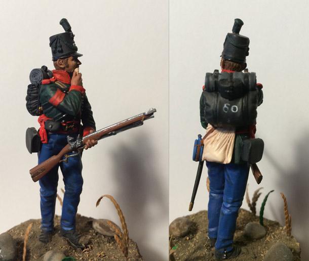Учебка: Британский сержант 60-го стрелкового полка, 1813-14 гг.