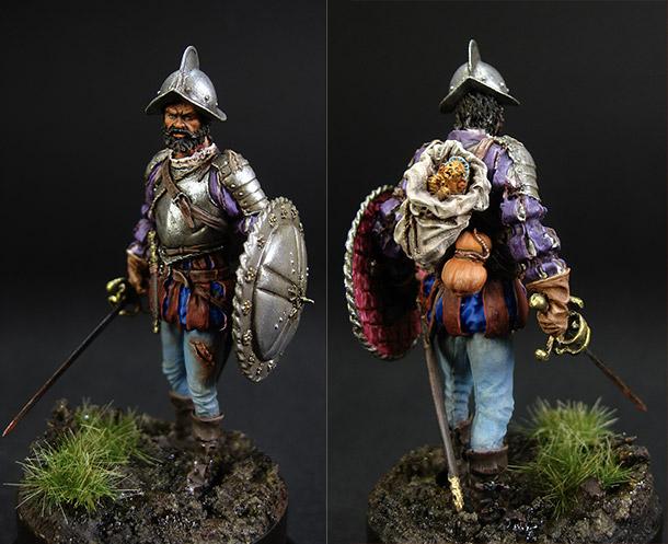 Фигурки: Испанский конкистадор, 1560-1600 гг.
