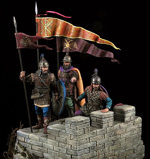 Диорамы и виньетки:  Византийцы