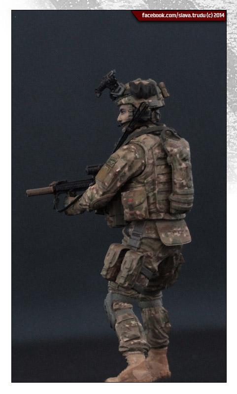 Диорамы и виньетки: Солдат армии США, война в Афганистане, фото #11