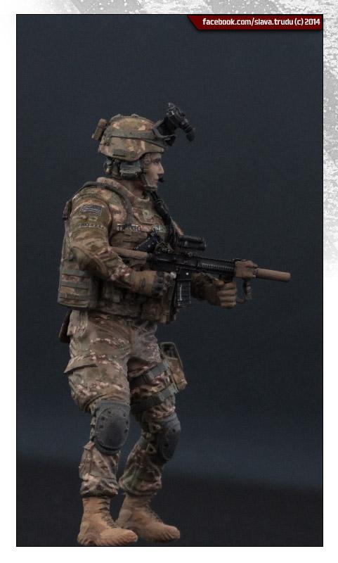 Диорамы и виньетки: Солдат армии США, война в Афганистане, фото #9