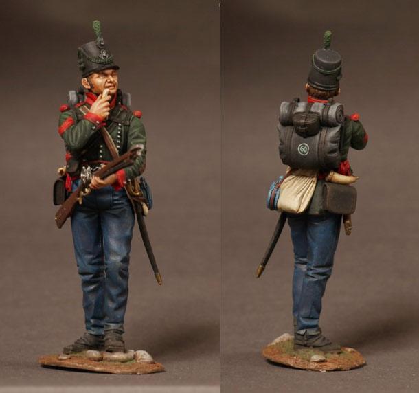 Фигурки: Британский сержант 60-го стрелкового полка, 1813-14 гг.