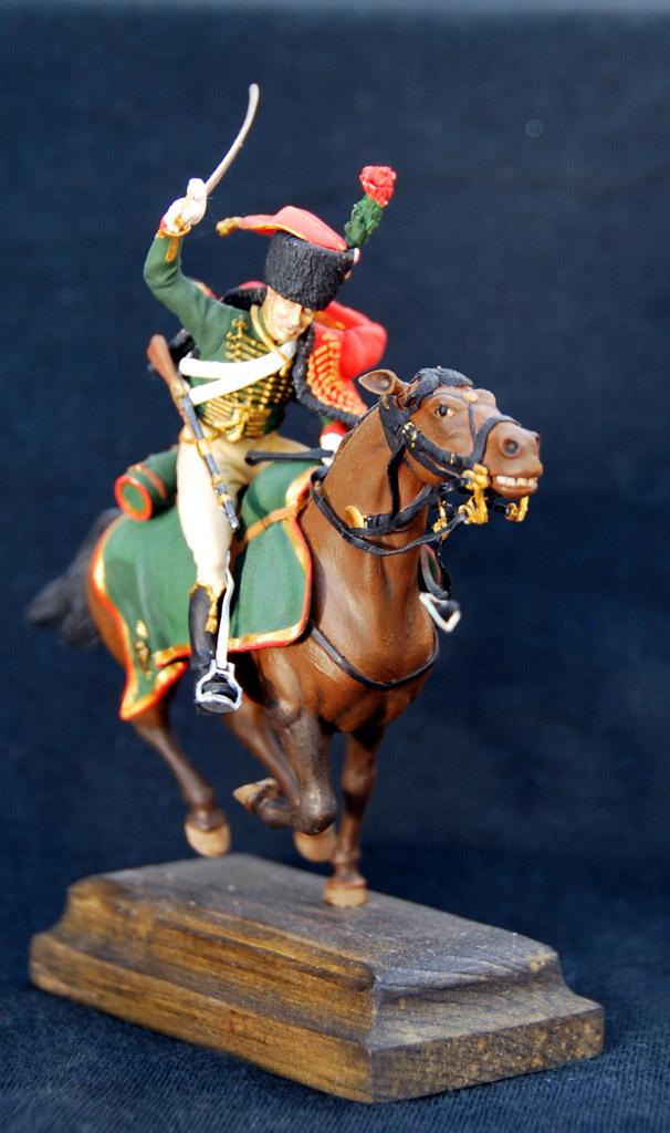 Фигурки: Гвардейский конный егерь армии Наполеона, фото #1