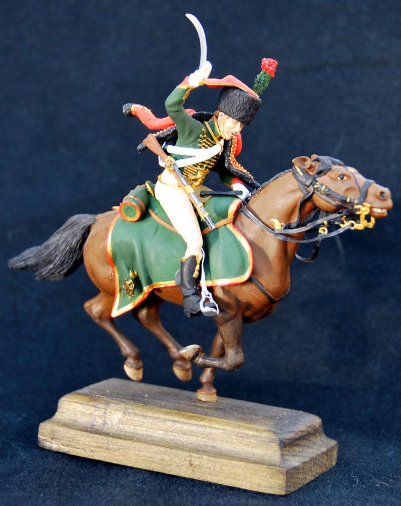 Фигурки: Гвардейский конный егерь армии Наполеона, фото #2