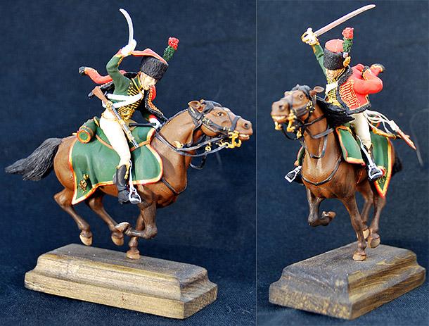 Фигурки: Гвардейский конный егерь армии Наполеона