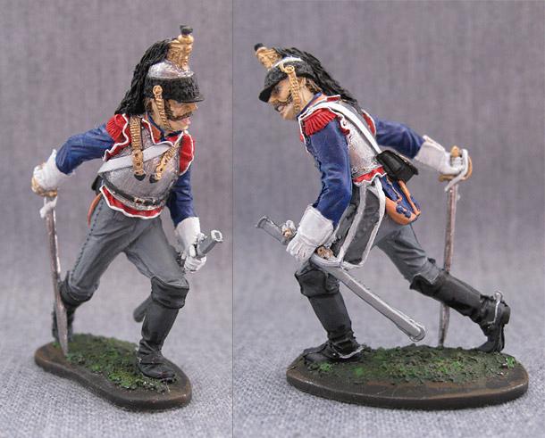 Учебка: Рядовой 5-го кирасирского полка (Франция), 1810-15 гг.