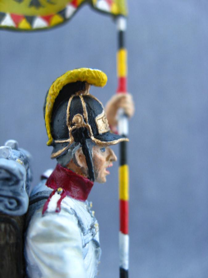 Учебка: Знаменосец 1-го полка линейной пехоты Кайзера Франца Иосифа I, фото #10